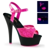 KISS-209ML Neon Hot Pink/Black